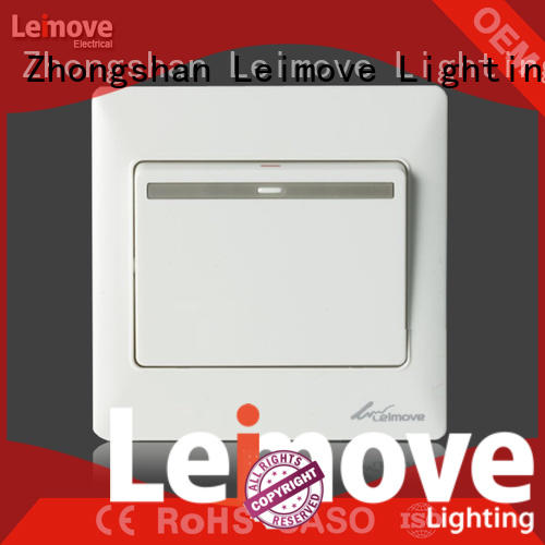 flame retardant electric switch high-quality easy assembly for light
