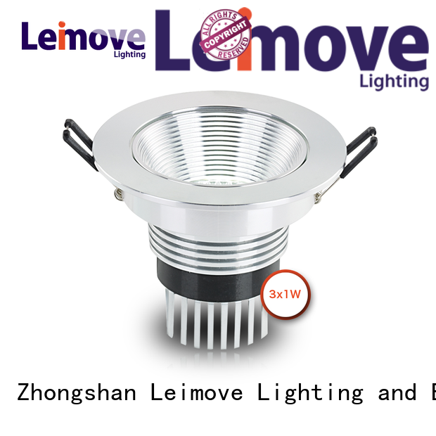 Leimove ceiling decoration bathroom led downlights surface mounted for customization