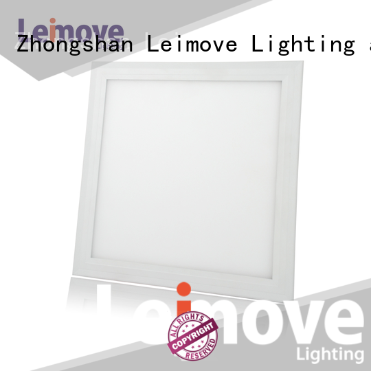 Leimove aluminum 600x600 led panel bulk production for customization