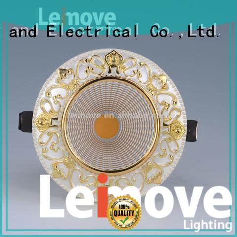 Leimove copper 240v led spotlight bulb recessed