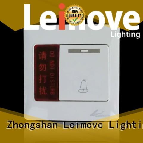 Leimove high-quality electric switch simple structure lighting accessories