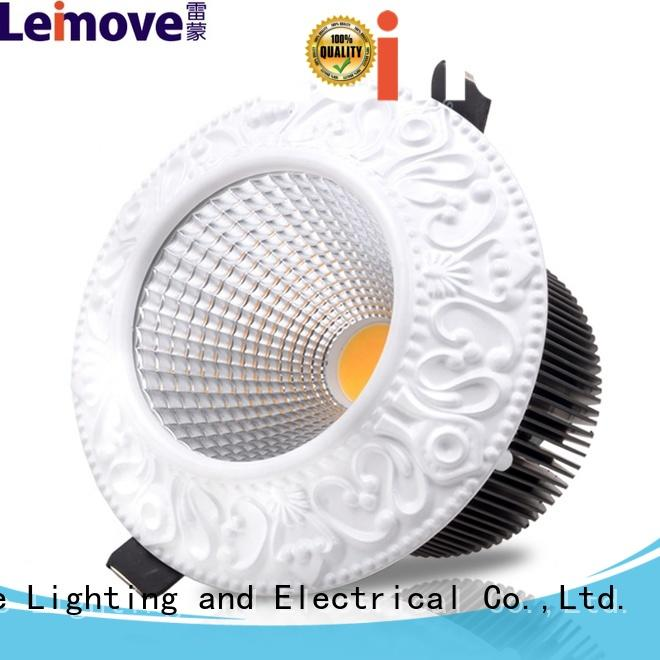 Leimove gold colored led spotlights ceiling