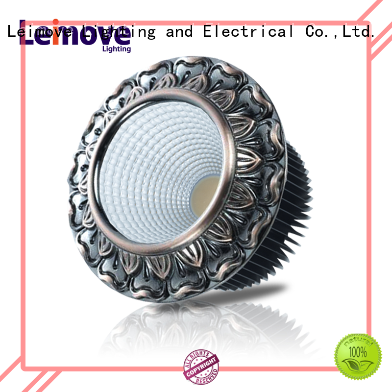 Leimove energy-saving led recessed downlights surface mounted for customization