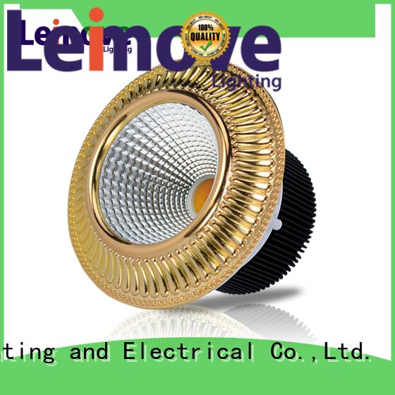 Leimove commercial illumination slim led downlights white milky for wholesale