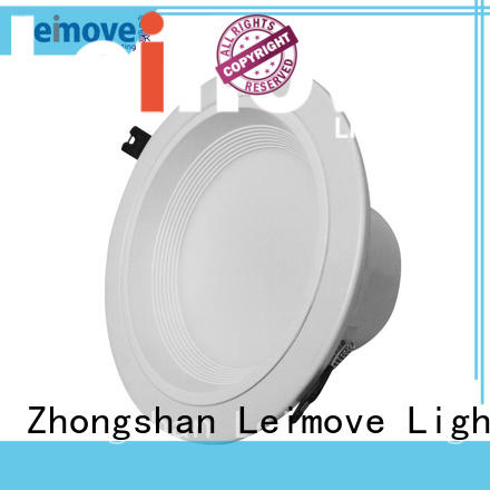 Leimove years warranty adjustable led downlights white milky for wholesale