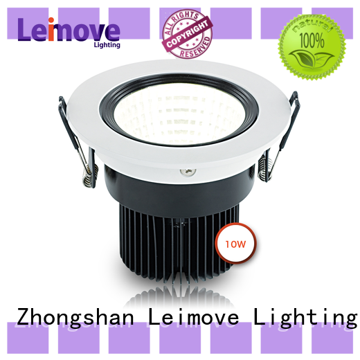 Leimove round outdoor led downlights white milky for sale