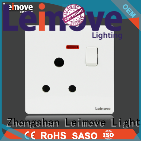 Leimove shock resistance electric switch free delivery lighting accessories