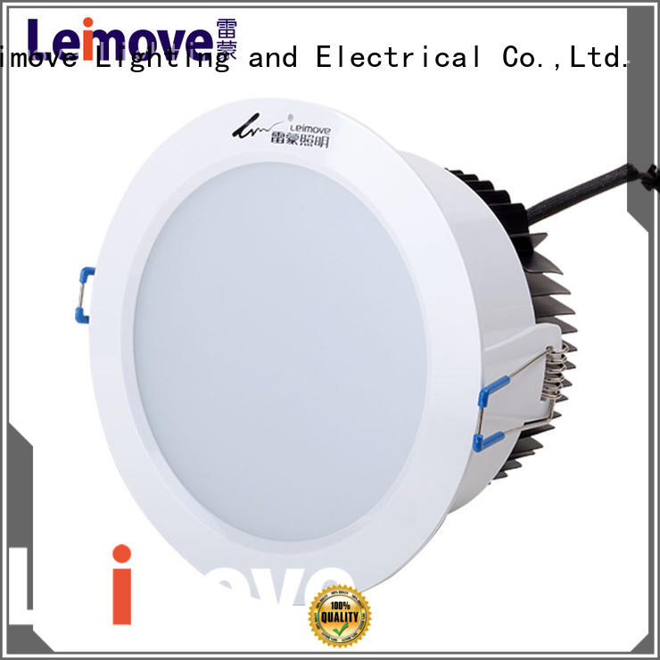 Leimove commercial illumination outdoor led downlights surface mounted for sale
